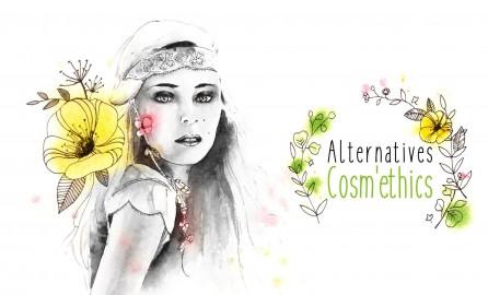Logo Alternatives Cosm'Ethics réalisé par lb illustrations
